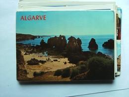 Portugal Algarve  Albufeira Beach And Rocks - Portugal