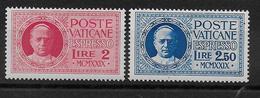 VATICAN - 1929 - EXPRES YVERT N° 1/2 ** MNH - COTE = 135 EUR. - Vatican