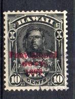 APR1299 - HAWAII 1893 , Yvert N. 50  Usato (2380A) - Hawaii