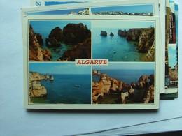 Portugal Algarve Coast With Rocks - Portugal