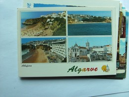 Portugal Algarve Albufeira With Several Views - Andere