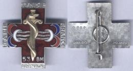 Insigne Du 53e Bataillon Médical - Services Médicaux