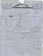 Suisse- Bâle - Dreyfus Et Schmole - Commerce De Cuirs - Peaux - Judaica - Judaisme - 1860 - Suisse