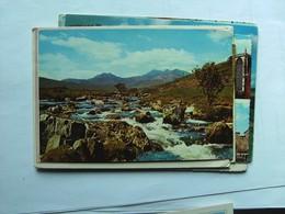 Wales Gwyned Snowdon From Old Bridge Of Garth - Wales