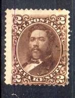 APR1303 - HAWAII 1875 , Yvert N. 27  Usato (2380A) - Hawaii