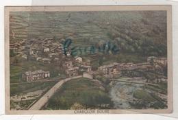 PIEMONTE  Val Chisone - CP COLORISEE CHARGEOIR ROURE - EDIZ. V. S. P. - CIRCULEE EN 1935 ? - Altre Città