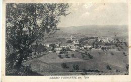 Cpa CERRO VERONESE ( M 729 ) - Verona