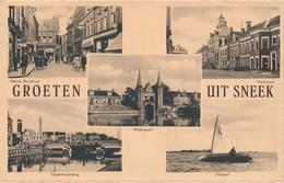CPSM - Pays-Bas - Groeten Uit Sneek - Sneek
