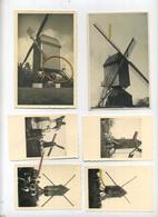 Windmolens :( 2 Kaarten & 4 Foto's ) 2 Onderste Zie Scan 2 Keerbergen , Andere  Plaats Te Bepalen - Photos