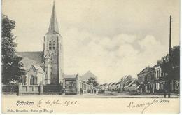 HOBOKEN - ANVERS : La Place - Nels Série 71 N°31 - RARE VARIANTE - Courrier De 1901 - Autres