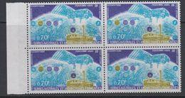 TAAF 1979 Space / Satellite Argos 1v Bl Of 4 ** Mnh (42877) - Franse Zuidelijke En Antarctische Gebieden (TAAF)