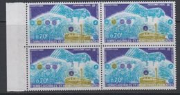 TAAF 1979 Space / Satellite Argos 1v Bl Of 4 ** Mnh (42877) - Ongebruikt