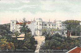 Tamaris-sur-Mer - Le Grand Hôtel, Façade Et Aile Droite - Edition L. Olive - Carte Colorisée Non Circulée - Tamaris