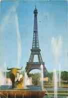 Paris - La Tour Eiffel - Traveled 1967. - Eiffelturm