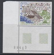 TAAF 1986 Spot Satellite 1v (corner, Sheet Number) ** Mnh (42877A) - Ongebruikt