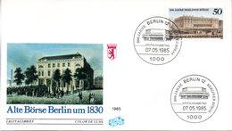 "Westberlin Schmuc-FDC Mi.740 ""300 Jahre Berliner Börse"" ESSt 7.5.1985 BERLIN 12 - Berlin (West)"