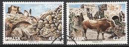 Malte - 2013 - Yt 1758/1759 - Faune - Obl. - Malta