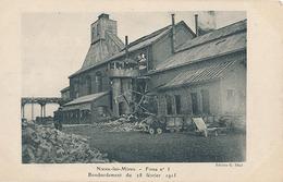 NOEUX LES MINES - FOSSE N° 3 - BOMBARDEMENT DU 28 FEVRIER 1915 - Noeux Les Mines