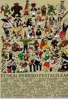 Euskal Herriko Festagileak - Personnages Folkloriques Du Pays Basque - Personnages
