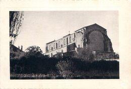 Cpsm LA CHAIZE LE VICOMTE 85 Eglise Saint Nicolas - La Chaize Le Vicomte