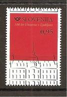 SLOVENIA  2019,100 YEARS OF UNIVERSITY IN LJUBLJANA,MNH, - Slovénie