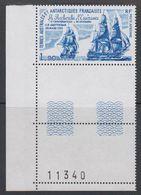 TAAF 1979 La Recherche  & L'Esperance  / Sailing Ships 1v  (sheet Number) ** Mnh (42877G) - Franse Zuidelijke En Antarctische Gebieden (TAAF)