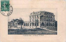 Cpa VALENCIENNES 59 La Banque De France - Valenciennes
