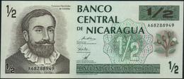 NICARAGUA - ½ Cordoba Nd.(1992) AU-UNC P.172 - Nicaragua