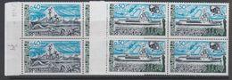 Taaf 1977 Ships 2v Bl Of 4  ** Mnh (42877J) - Franse Zuidelijke En Antarctische Gebieden (TAAF)