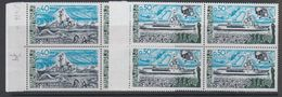 Taaf 1977 Ships 2v Bl Of 4  ** Mnh (42877J) - Ongebruikt