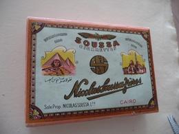 Paquet Cigarettes Ancien Soussa Egypte Le Caire Nicolas Soussa Frères Paypal Ok Out Of Europe - Cigarettes - Accessoires