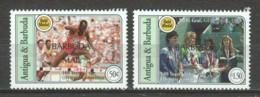 Antigua & Barbuda (Barbuda Mail) 1995 Mi 1657-1658 MNH - 100 YEARS OLYMPIC COMMITTEE - Zonder Classificatie