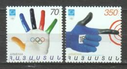 Armenia 2005 Mi 502 + 504 MNH SUMMER OLYMPICS ATHENS - Zomer 2004: Athene