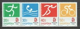 Albania 2008 Mi 3263-3266 MNH SUMMER OLYMPICS BEIJING - Zomer 2008: Peking