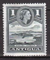 Antigua 1953 Elizabeth II Single 1 Cent Definitive Stamp From The 1953 Set. - 1858-1960 Colonie Britannique