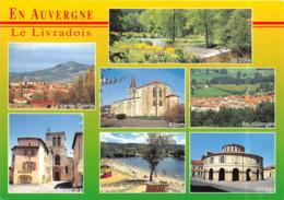 Le Livradois S Etend Entre La Comte Et La Vallee De La Dore 5(scan Recto-verso) MA1475 - France