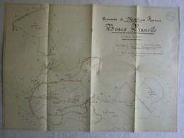 Martina Franca - Carta Topografica BOSCO PIANELLE, Scala 1:8000 - OTTIMA RVS-4 - Carte Topografiche