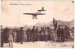 CPA B-du-R.MIRAMAS.CHAMP D'AVIATION - France