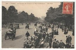 75 - PARIS 16 - Perspective De L'Avenue Du Bois De Boulogne - ND 2937 - 1911 - Arrondissement: 16