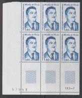 TAAF 1982 Martin De Vivies 1v Bl Of 6 (corner)  ** Mnh (42877J) - Franse Zuidelijke En Antarctische Gebieden (TAAF)