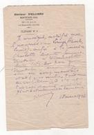 CERTIFICAT DU DOCTEUR VIELLIARD CONCERNANT UNE NOURRICE A MONTATAIRE - 60 OISE - 1926 - Documents Historiques