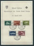 MiNr. 284-288 - Danzig