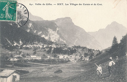 SIXT - N° 641 - VALLEE DU GIFFRE - LES VILLAGES DES CURTETS ET DU CROT - Sixt-Fer-à-Cheval