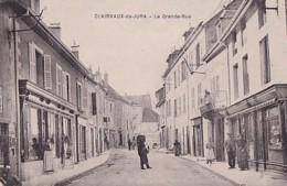 CLAIRVAUX DU JURA        LA GRANDE RUE . - Clairvaux Les Lacs