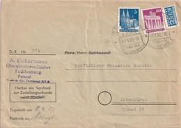 ALLEMAGNE ZONE ANGLO-AMERICAINE  1950 LETTRE DE TECKLENBURG - Bizone