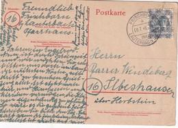 ALLEMAGNE ZONE ANGLO-AMERICAINE 1948 CARTE DE FRISCHBORN - American/British Zone