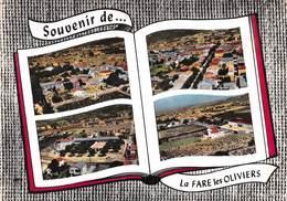 Souvenir De La FARE-les-OLIVIERS - Vues Multiples - Livre Ouvert - Other Municipalities