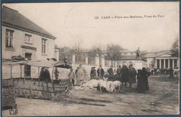Caen , Foire Aux Bestiaux , Place Du Parc , Animé - Caen