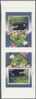 Adschman - Manama / Ajman - Manama: 1970 (ca.) Apollo 7 Space American Astronauts Eisele, Schirra An - Manama