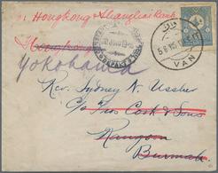 Armenien - Stempel: 1905 (June 5) Cover From Van (town Of Armenia In 1920) Sent Via Constantinople A - Armenien